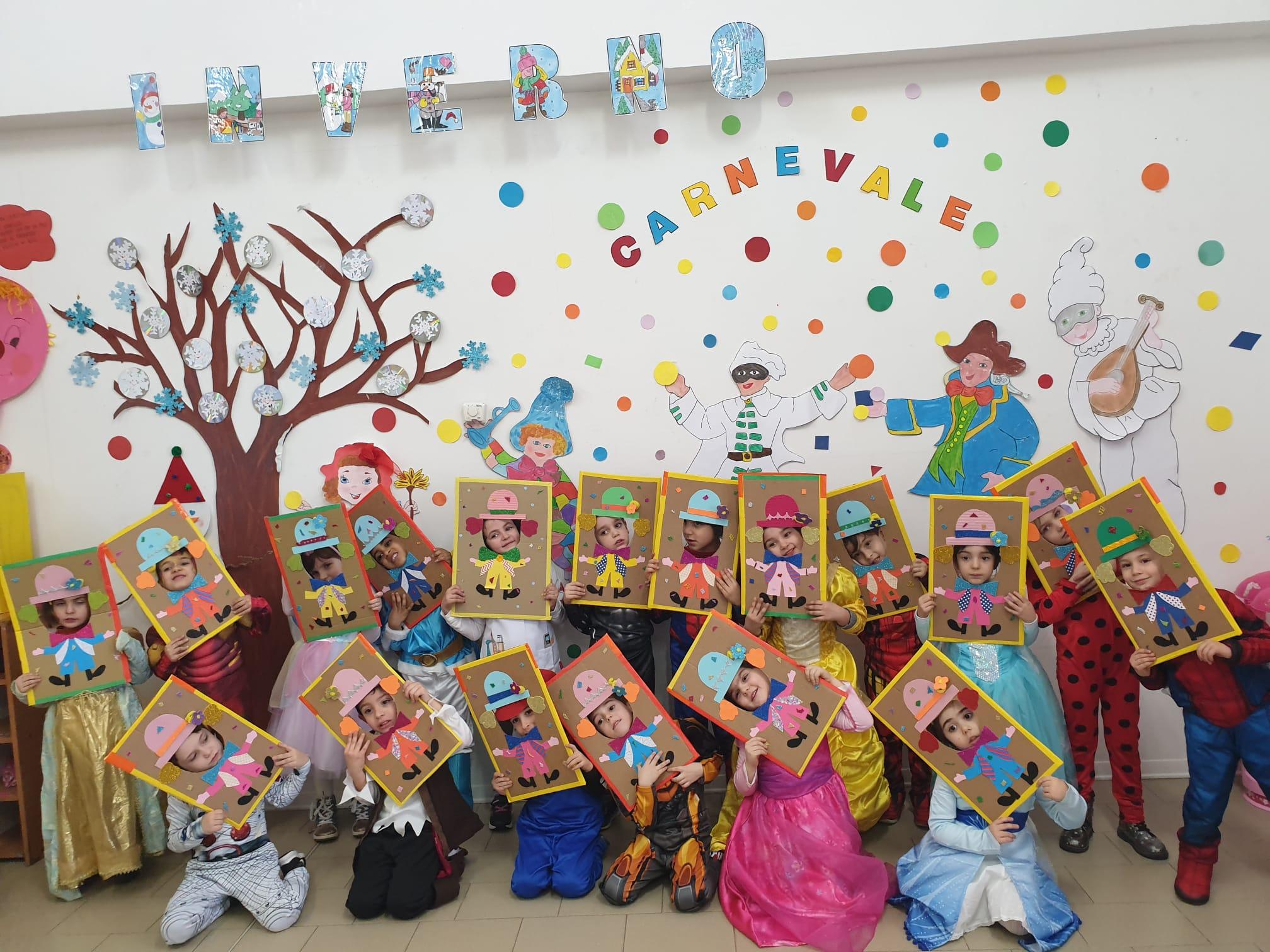 """Festa di Carnevale nella Scuola dell'Infanzia """"Via Volturno"""""""