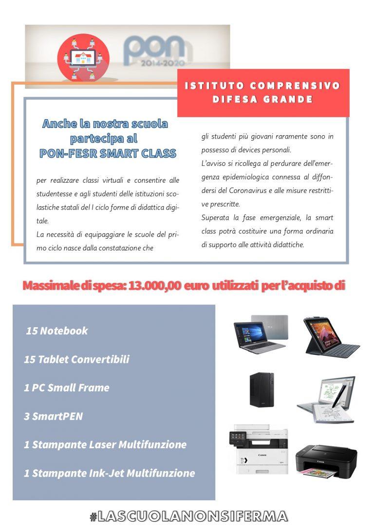PON-FESR SMART CLASS