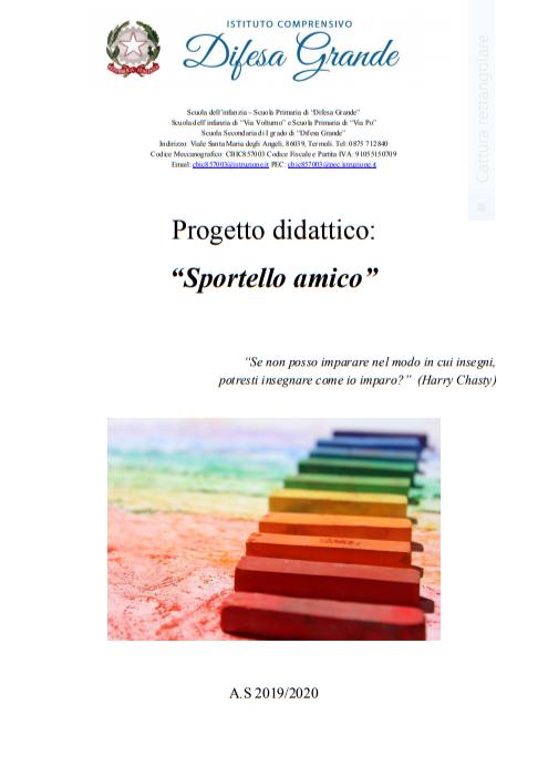 """""""Sportello Amico"""""""