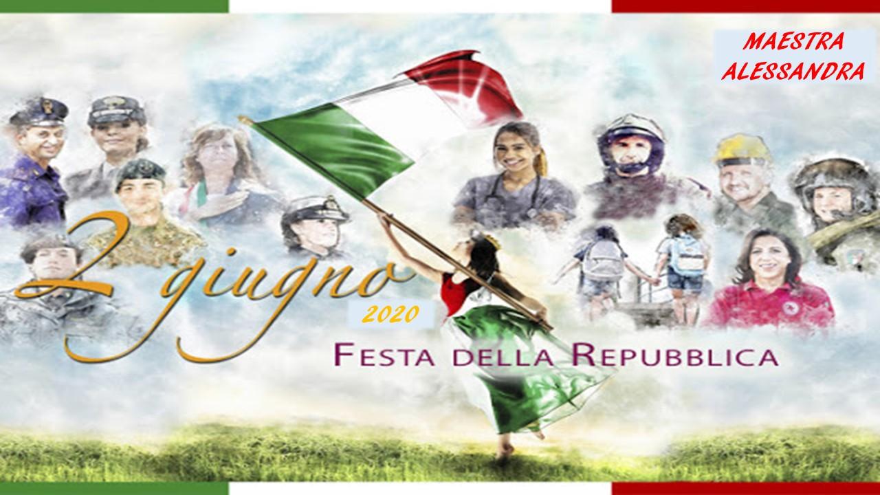Festa della Repubblica – 2 giugno 2020