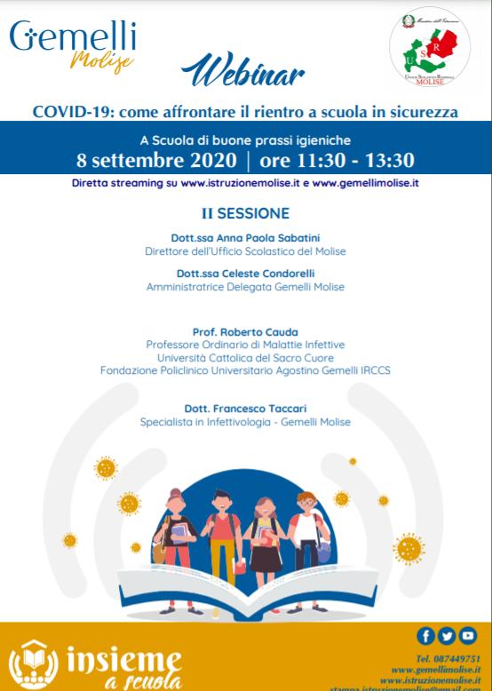 """Corso Covid – seconda sessione – """"Gemelli"""""""