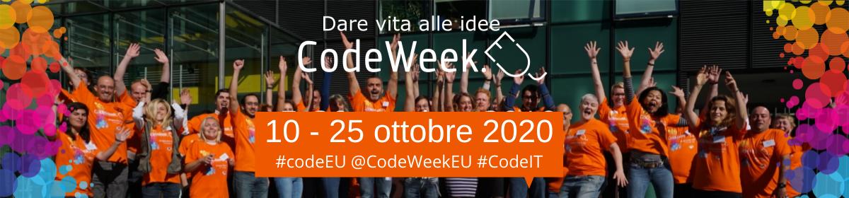 Partecipazione – CODEWEEK  – 8/25 ottobre 2020