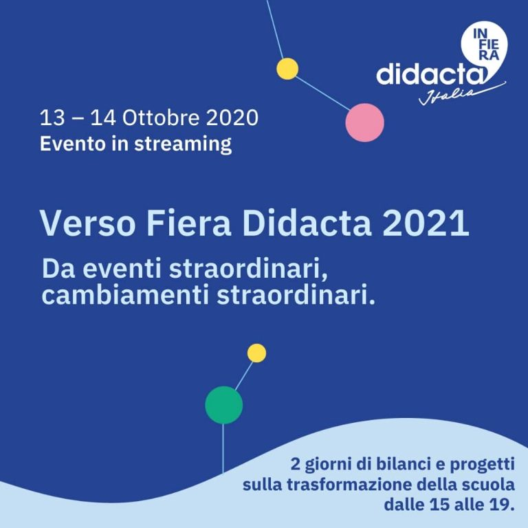 Verso  Fiera Didacta 2021