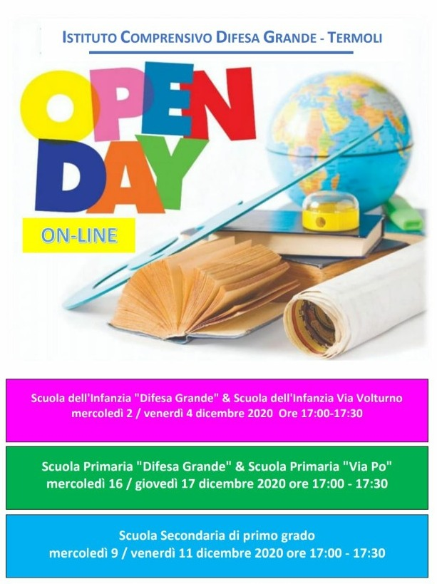 OPEN DAY – TOUR VIRTUALE