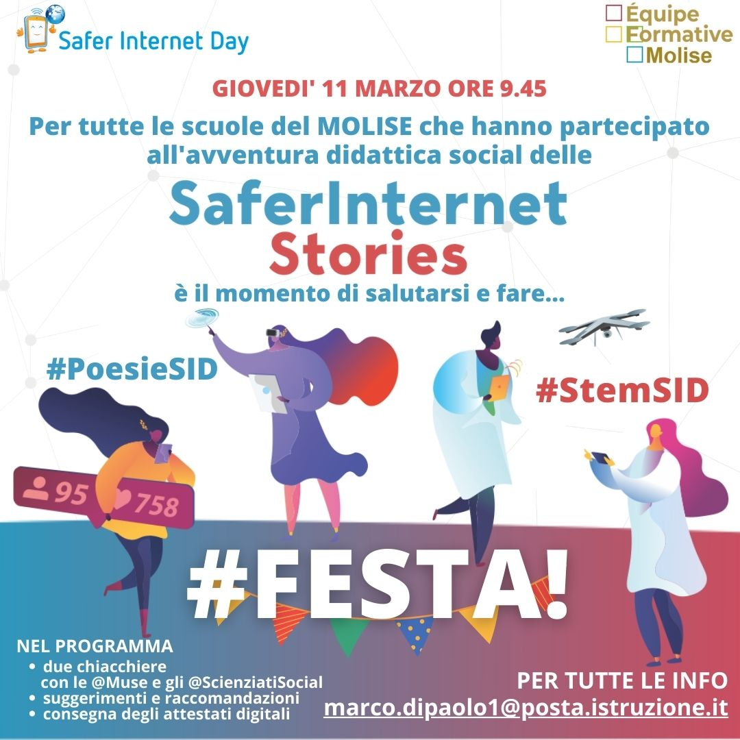 Safer Internet Stories-evento finale