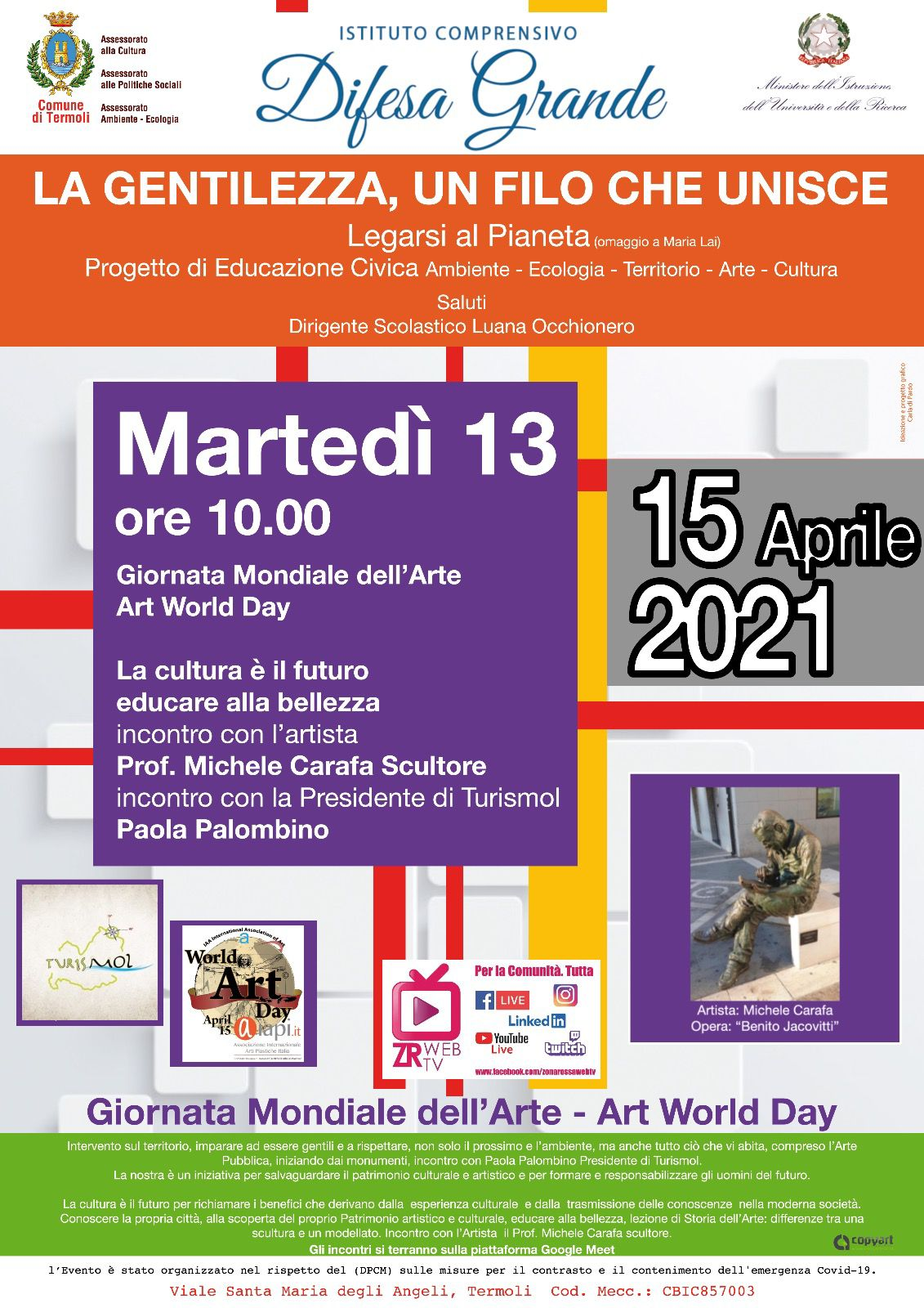 Evento 13 aprile – Art World Day