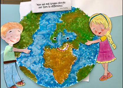 Giornata mondiale della Terra -scuola dell'Infanzia Via Volturno