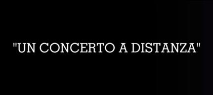 Un concerto a distanza