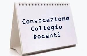 Convocazione Collegio Docenti Unitario -a.s. 2021/2022