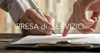 Comunicazione – Presa di Servizio per il personale scolastico al 01/09/2021