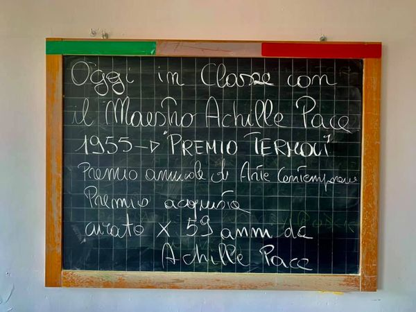 """In ricordo del """"Maestro"""" Achille Pace"""
