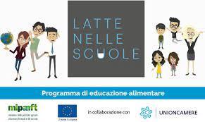 """Progetto """"Latte nelle Scuole"""" a.s. 2021/22"""